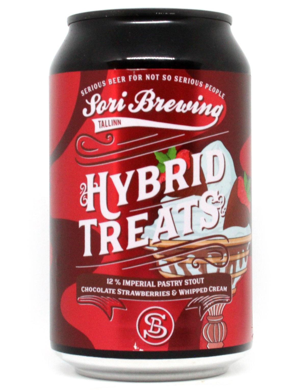 Hybrid Treats Vol.8: Chocolate Strawberries & Whipped Cream