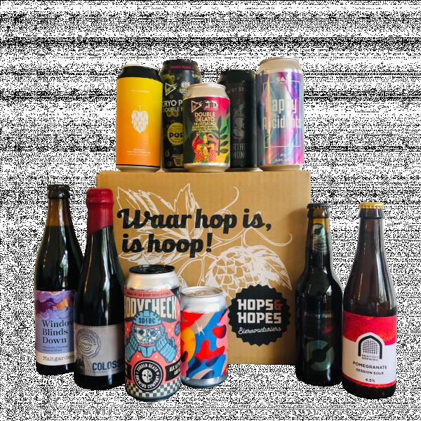 Bierpakket Verrassingsmix (8 stuks)