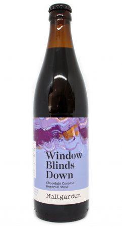 Window Blinds Down