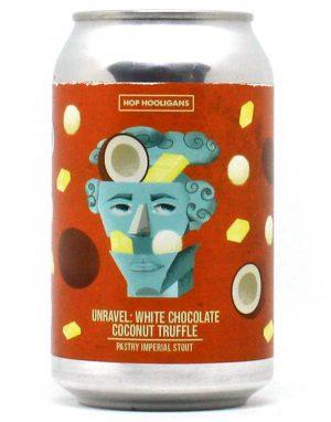 Unravel: White Chocolate Coconut Truffle