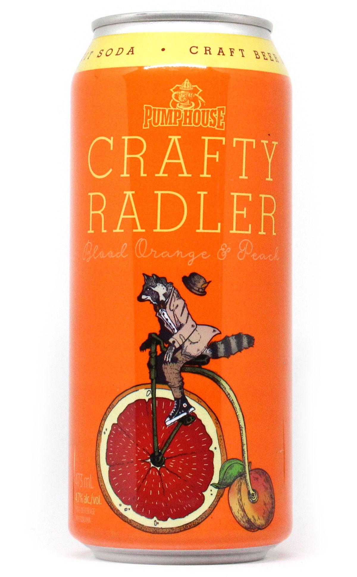 Blood Orange & Peach Crafty Radler